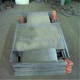 De permanente Kathode van het Staal met Staaf van de Hanger van het Koper van het Titanium de Beklede voor Elektrolyse