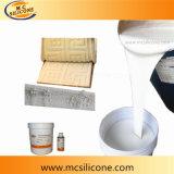 Caucho de silicón líquido para hacer el molde para el concreto