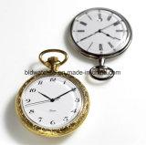 Reloj de bolsillo clásico para hombre de acero inoxidable