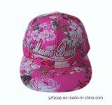 Snapback 모자를 인쇄하는 3D 자수 Snapback