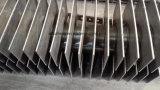 Acero al carbono o acero inoxidable Refrigeración H Hh aleta espiral Tubo para unidades economizador