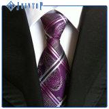 Niedriger Preis-Aktien-handgemachte zusätzliche Polyester-Krawatte