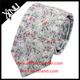 Chine Factory en gros Floral Custom Print Cotton Silk Necktie