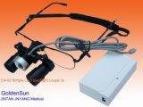 Qualitäts-Vergrößerungsglas-zahnmedizinische chirurgische Lupen mit LED-Licht