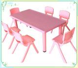 중국제 최고 가격 장방형 플라스틱 유치원 테이블 및 의자