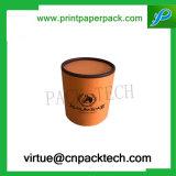 Schöner Entwurfs-runder Handschuh-verpackengeschenk-Papierkasten