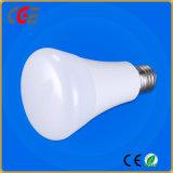ampoule du boîtier plastique DEL de 15W E27 avec du ce