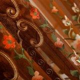 Профессиональные занавесы 100% качества мастерской спальни полиэфира роскоши
