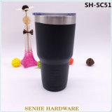 [ستينلسّ ستيل] [كفّ موغ], جدار مزدوجة يعزل فراغ فنجان مع نقد غطاء ([ش-سك51])