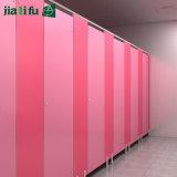 5 da garantia da alta qualidade do PVC anos de divisória do toalete para o hotel