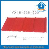 Precio barato el color del techo/pared de acero recubierto de hojas de revestimiento de metal