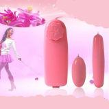 女性のマスターベーションの倍のジャンプ愛卵のバイブレーターの性のおもちゃ