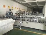 Machine d'emballage décorative de travail du bois de PVC