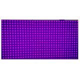 Sola visualización de pantalla al aire libre del módulo de texto de la púrpura P10 LED