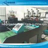 Exportado para Indonésia 6 linhas saco de plástico do perfurador que faz a máquina