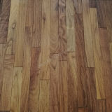 plancher conçu multicouche américain de la noix 3-Strip noire avec le pétrole normal