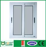 Finestra di scivolamento di alluminio con doppio Pnoc0012slw di verniciatura Tempered