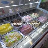 Gabinete de indicador do gelado de gelado da caixa do gelado