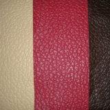 Cuero material de los muebles del sofá del PVC