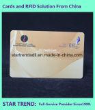 Listra magnética com o cartão do PVC da cor cheia da assinatura