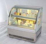 Tabletop малый охладитель витрины торта