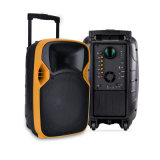 12 Zoll Plastikdes radioapparat-LED Projektions-laute Lautsprecher-