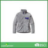 Зимняя Фэшн сплошным цветом дешевые короткий стиле полярных флис куртка