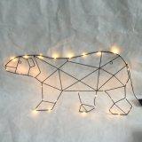 Luz comercial de la decoración del reno LED de la Navidad de la nueva alta calidad