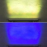 iluminación impermeable de la etapa de la arandela de la pared de 24PCS*3W LED