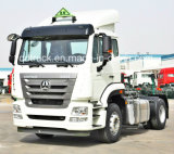 SINOTRUK HOHAN 4*2 340HPのトラクターの/Cargoのトラックの中国の製造業者