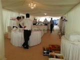 Barracas luxuosas do banquete de casamento para o feriado branco do telhado do PVC da venda