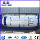 Propan 20feet/22ton, das Gas-Transport LPG-mobilen Becken-Behälter kocht