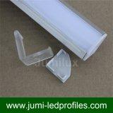 Manica di alluminio d'angolo della baia LED per il Governo