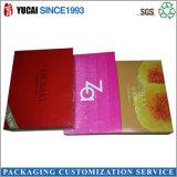 Casella di carta stampata estetica con la laminazione impressa di lucentezza