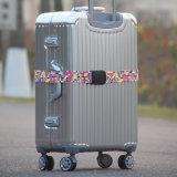 Correa de equipaje de viaje de poliéster correa de la maleta personalizada con bloqueo