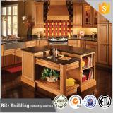 Cabina de cocina modular de encargo del estilo de los muebles europeos de la cocina