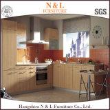 Armadio da cucina di legno modulare di stile della mobilia moderna della casa