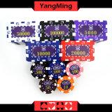 Случай Ym-Fmgm002 обломока глины покера 760 ABS несущей обломоков набора микросхем покера PCS алюминиевых преданных пластичный