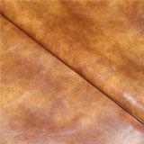 ソファーのFurnitreの家具製造販売業のためのMicrofiberのエクスポートされた品質によって浮彫りにされる総合的な革