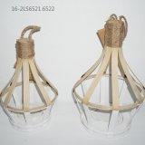 Bambou et Ratton avec des traitements de seules lanternes