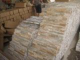 El chino de la pila de piedra de la cultura de la piedra de pizarra para interior y fuera de los paneles de pared