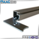 Perfil de aluminio/de aluminio del marco de la protuberancia para la foto/Whiteboard/el panel solar