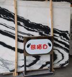 Lastra di marmo bianca Polished del marmo naturale caldo di vendita, mattonelle di pavimento, mattonelle di progetto