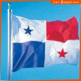 Fait sur commande imperméabiliser et indicateur national du Panama d'indicateur national de Sunproof