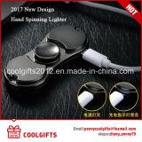 Allumeur de remplissage protégeant du vent de cigarette en métal neuf USB de modèle