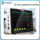 Portable di piccola dimensione un video paziente da 8 pollici per uso del veicolo di SME