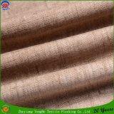 Tissu de toile tissé de rideau de franc d'arrêt total en guichet de rideau en polyester imperméable à l'eau de tissu