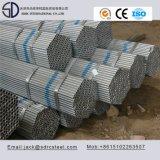Tubo de acero cuadrado galvanizado sumergido caliente del carbón Q345D