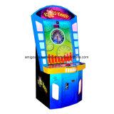 Счастливая монетка шарика привелась в действие машину видеоигры выкупления езды занятности