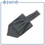 Foulards en soie de cravate d'homme de couleur faite sur commande de couleur solide de mode